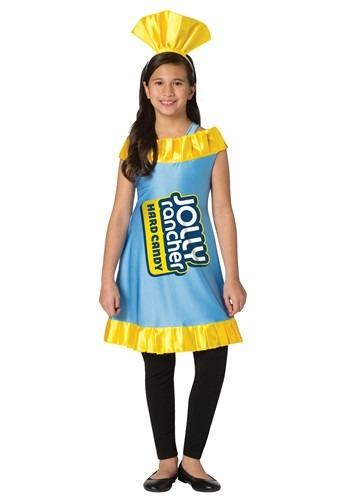 Girl's Blue Raspberry Jolly Rancher Costume