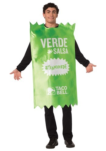 Adult Taco Bell Verde Sauce Packet Costume