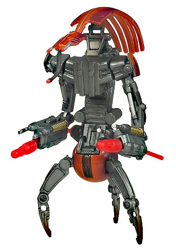 Saga Legends Destroyer Droid Action Figure HA89040