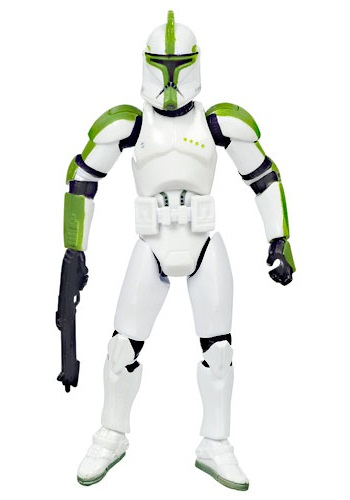 Saga Legends Clone Trooper Officer Action Figure