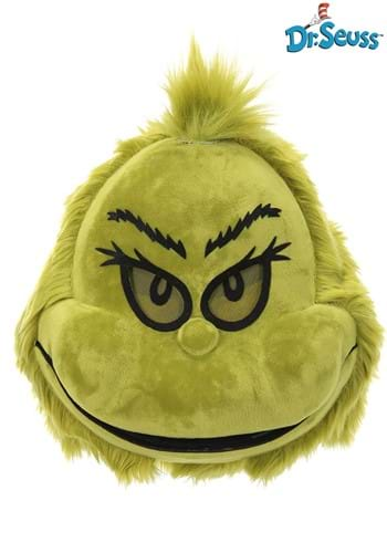 Plush Mouth Mover Mask The Grinch