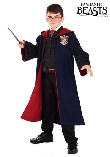 Vintage Kid's Hogwarts Gryffindor Robe Costume Update