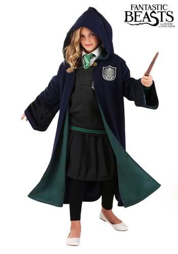 Kids Vintage Hogwarts Slytherin Robe Update