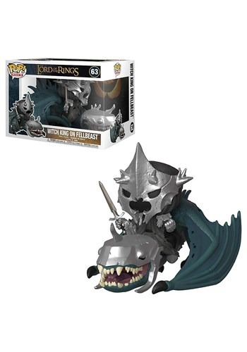 Pop! Rides: Lord of the Rings- Witch King w/ Fellb upd