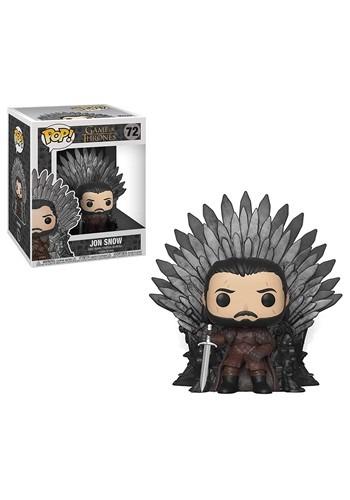 Pop! Deluxe: Game of Thrones Jon Snow on the Iron Throne