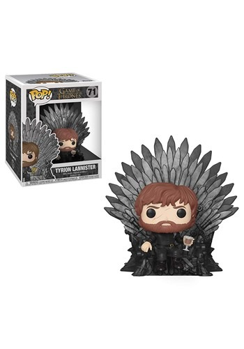 Pop! Deluxe: Game of Thrones- Tyrion on Iron Throne