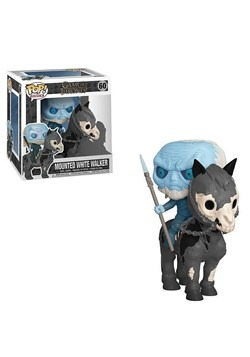 Pop! Rides: Game of Thrones- White Walker on Horse upd