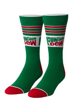 Mountain Dew Retro Cushioned Knit Cool Socks