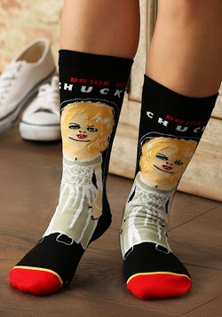 Bride of Chucky Women's Comfort Knit Cool Socks