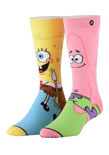 Spongebob & Patrick Premium Knit Odd Sox