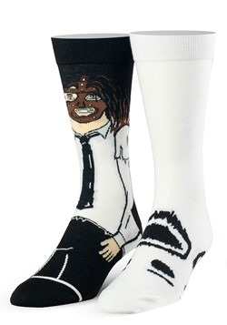 Adult WWE Mankind & Socko Premium Knit Socks from Odd Sox