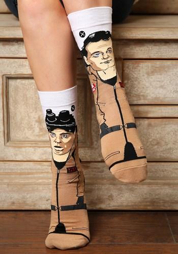 Adult Odd Sox Ghostbusters Venkman Stantz 360 Knit Socks