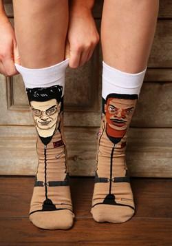 Odd Sox Ghostbusters Spengler Zeddmore 360 Knit Socks