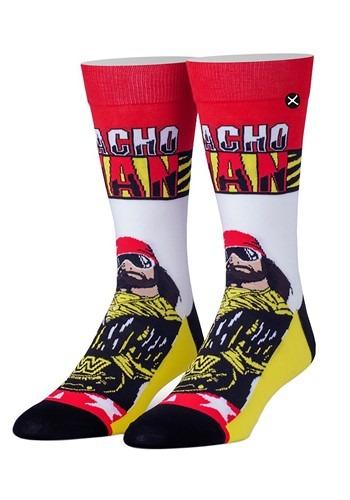 Odd Sox WWE King of the Ring Macho Man Premium Knit Socks