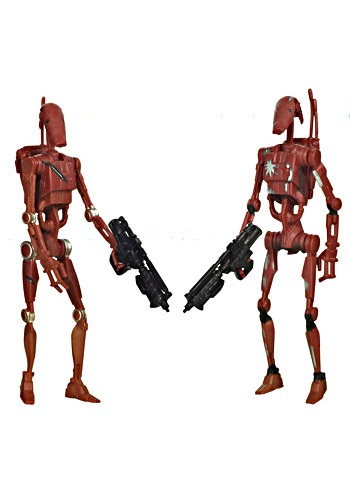 Star Wars Droids Toys : Saga legends battle droids action figures