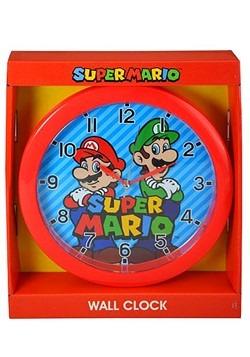 """Mario 10"""" Round Wall Clock"""