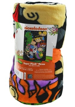 "Nickelodeon Rewind 46x60"" Plush Throw"