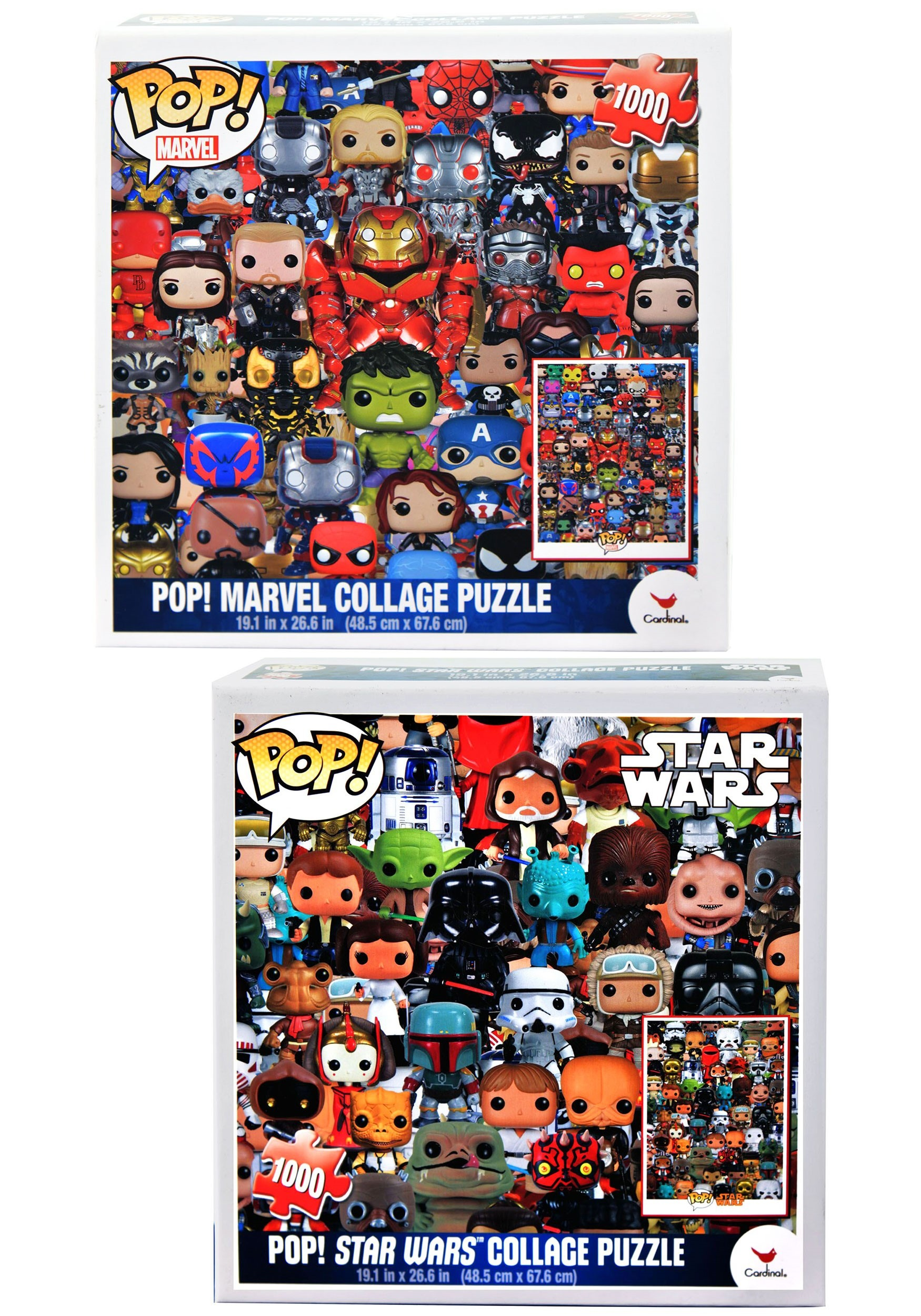 Marvel Collage Jigsaw Puzzle Funko POP!