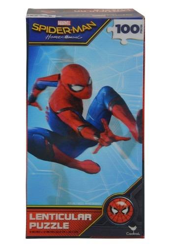 Spider-Man 100-Piece Lenticular Jigsaw Puzzle
