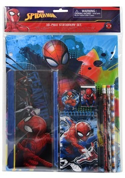 10 Piece Spider Man Stationery Set for Kids