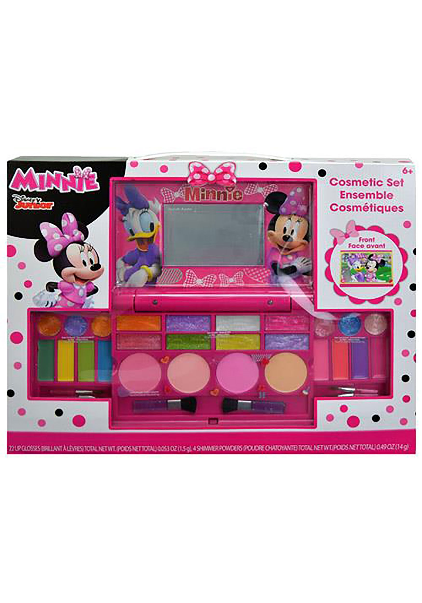Minnie Mouse Cosmetic Compact Set Disney Gifts