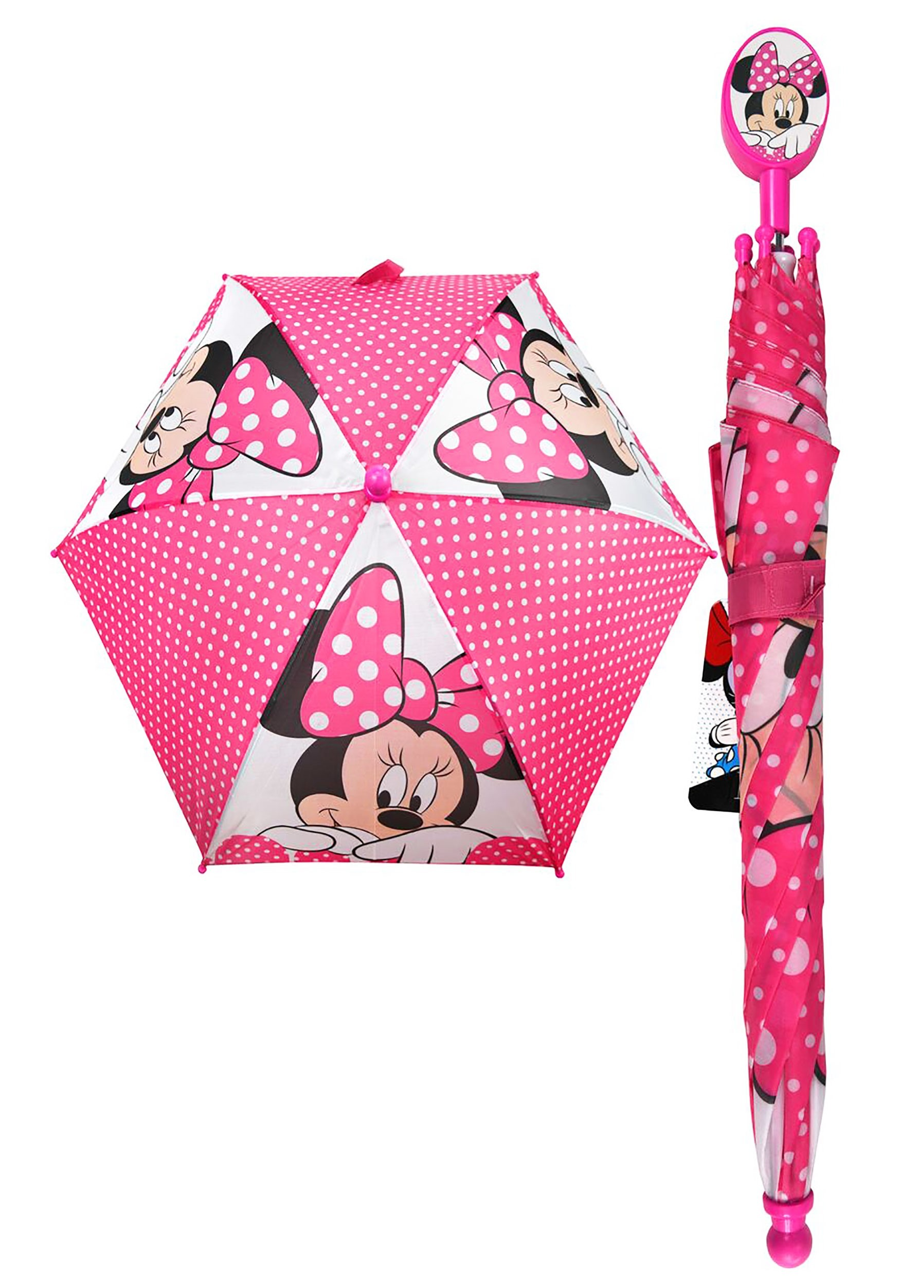 2020 fast delivery detailed look Disney Minnie Mouse Kids Umbrella