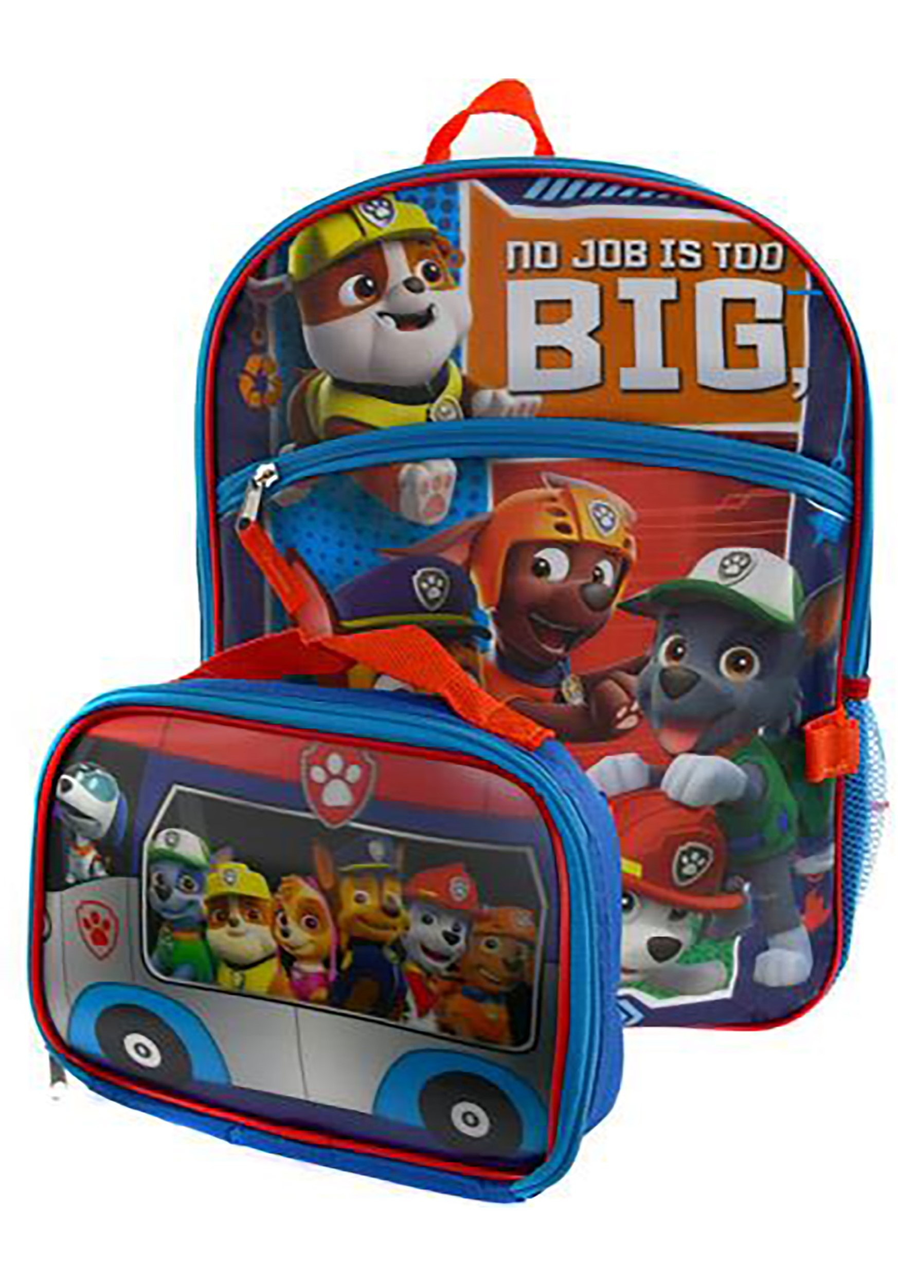 Paw Patrol 16 Backpack W Lunch Kit