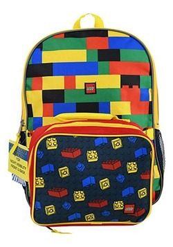 "Lego 16"" Backpack Lunch Bag"