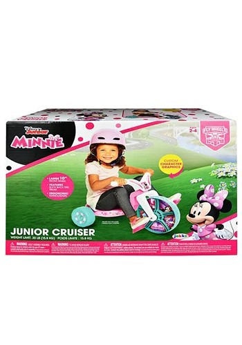 "Minnie Mouse 10"" Fly Wheel Junior Cruiser"
