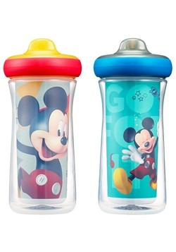 Mickey Mouse Insulated Sippy Cup 2-Pack