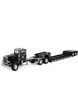 Peterbilt Model 367 Semi w/ Lowboy Trailer