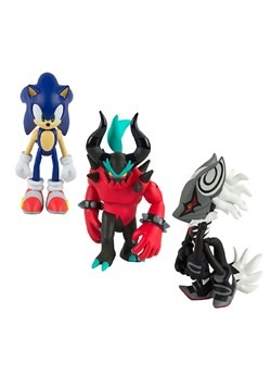 "Sonic the Hedgehog 3"" Collector Moden Figure 3-Pac"