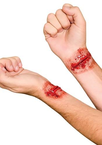 Slashed Wrists Applique