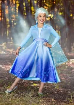 Frozen 2 Girls Elsa Deluxe Costume2