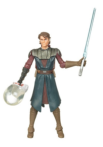 Anakin Skywalker Space Suit Action Figure CW21