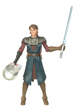 Anakin Skywalker Space Suit Action Figure - CW21