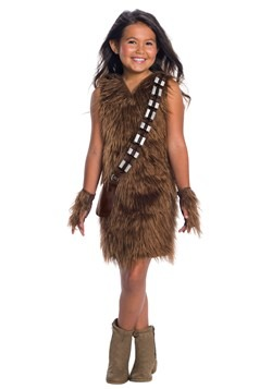 Star Wars Girls Deluxe Chewbacca Dress