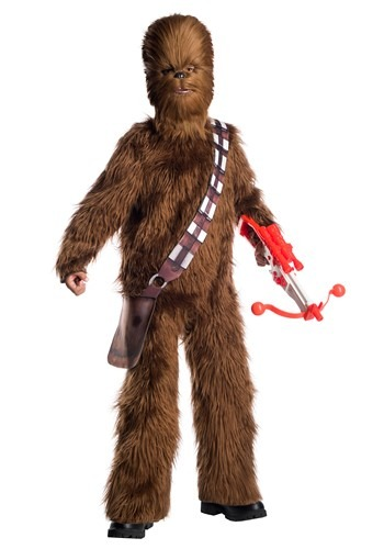 Star Wars - Kids Deluxe Chewbacca Costume