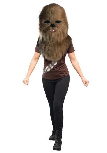 Star Wars Oversized Chewbacca Mascot Head11