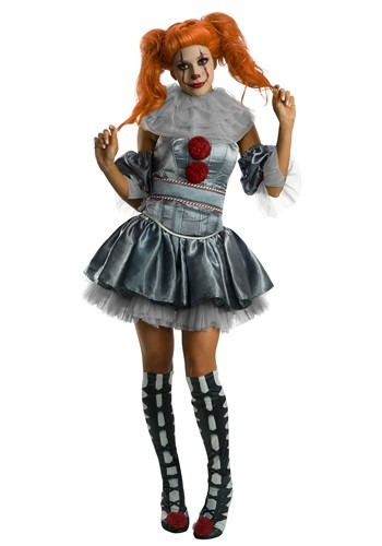 IT Deluxe Pennywise Womens Dress Costume