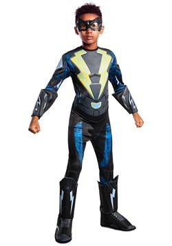 Black Lightning Kid's Deluxe Costume