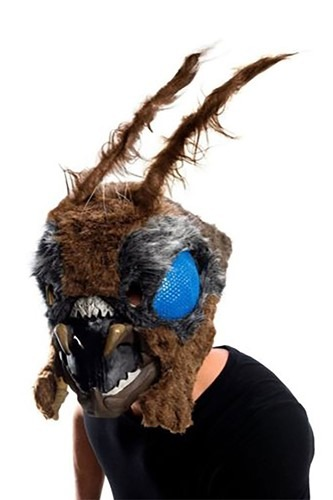 Godzilla King of the Monsters Mothra Overhead Latex Mask upd