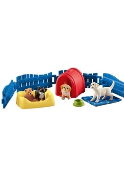 Puppy Pen Figure Set