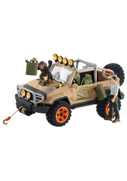 4x4 Jungle Vehicle with Figure Playset
