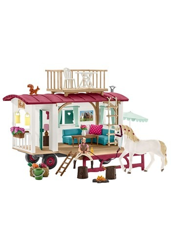 Horse Caravan for Secret Club Meetings Play Set