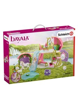 Glittering Flower House w/ Unicorns Play Set
