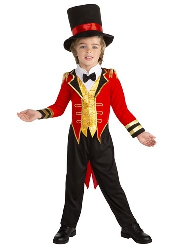 Circus Leader Ringmaster Costume For Toddlers