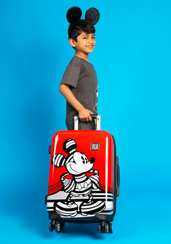 """Mickey Mouse Hard Case 21"""" Suitcase"""