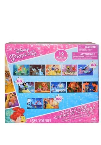Disney Princess 12 Piece Puzzle Pack