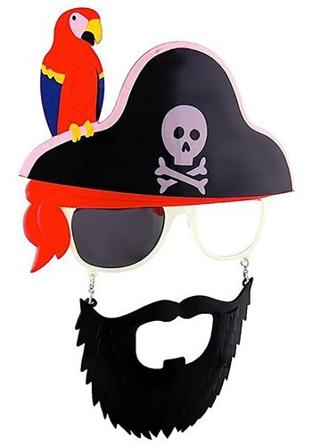 Sunglasses Pirate Accessory Set